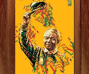 mosaic, art, and nelson mandela image