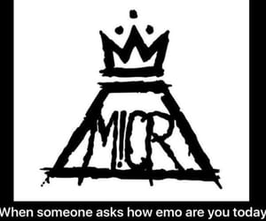 fall out boy, PANIC!, and mcr image