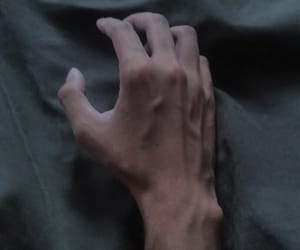 aesthetic, gray, and hands image