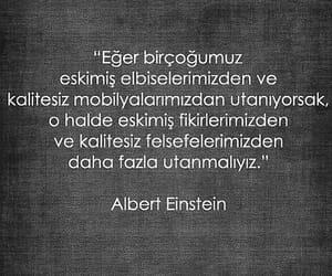 ilişki, huzur, and Albert Einstein image