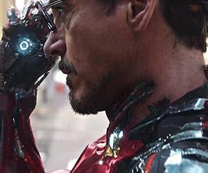 Avengers, glasses, and iron man image