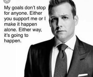 goal, goals, and quote image