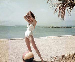 beach, brigitte bardot, and vintage image