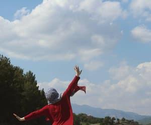hijab, مﻻك, and سماء image
