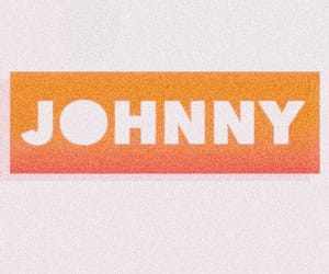 johnny, nct, and orange image
