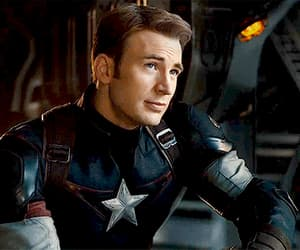 gif, captainamerica, and captainrogers image