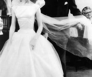 audrey hepburn, vintage, and wedding image