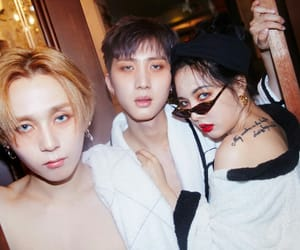 k-pop, hyuna, and triple h image