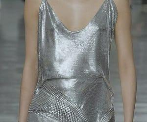 metal, runway, and silver image