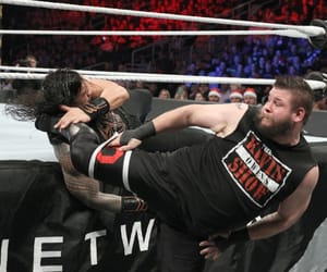 wwe, the shield, and kevin owens image
