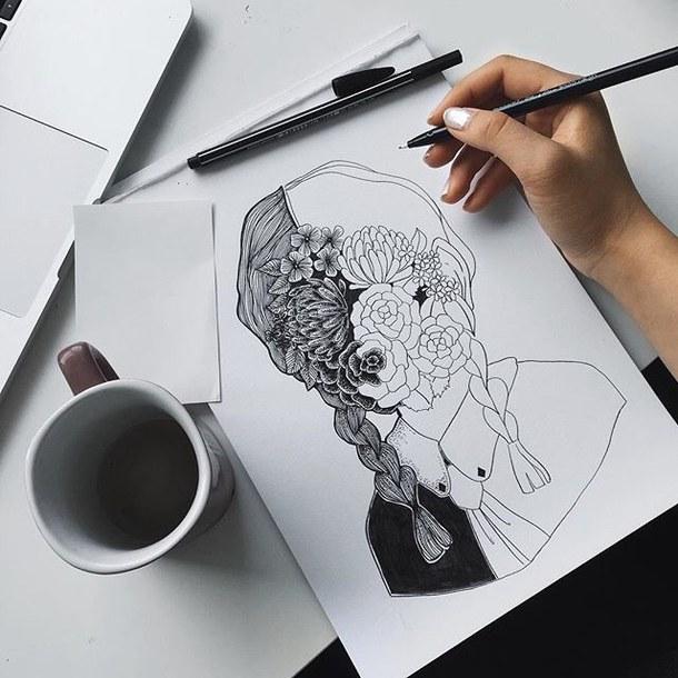 Art Drawing Aesthetic