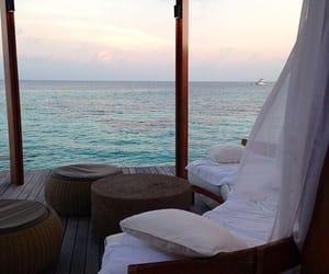 sea, luxury, and ocean image
