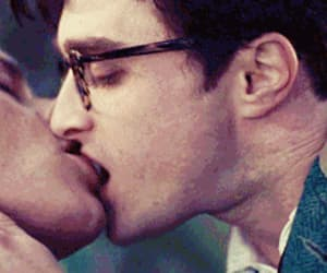 gif, kill your darlings, and kiss image