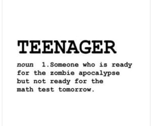 dictionary, teenager, and quotes image