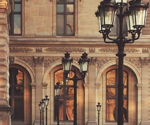 street, paris, and architecture image