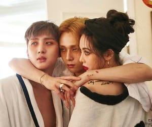 edawn, hyuna, and hui image