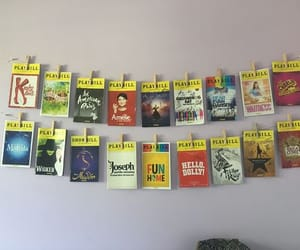 aesthetic, broadway, and playbill image