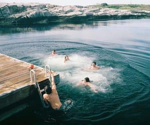 aesthetic, alternative, and lake image