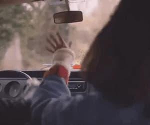 gif, car, and music image
