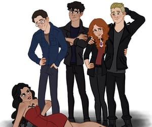 art, series, and the mortal instruments image