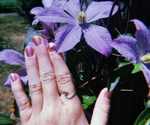 purplenails, love, and aesthetic image