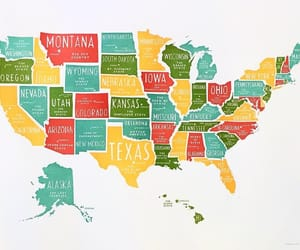 america, art, and places image