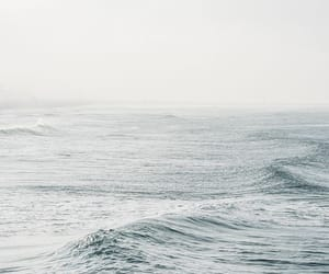 aesthetic, pretty, and waves image