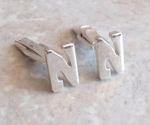 etsy, mens accessories, and wedding cufflinks image