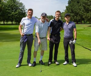 actors, film, and golf image