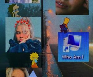 aesthetic, simpsons, and billie eilish image
