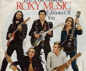 bands, Brian Eno, and roxy music image