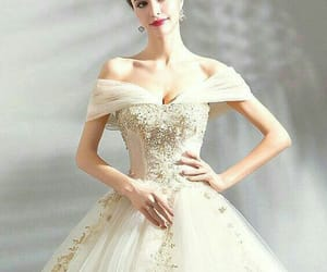 bride, chic, and fashion image