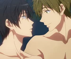 anime, yaoi, and makoharu image