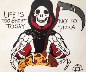 pizza, life, and short image