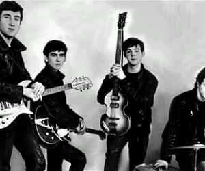 beatles, john, and george image