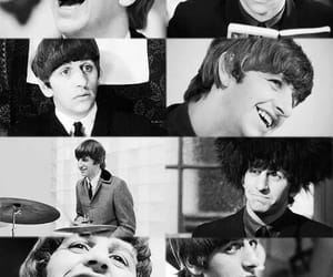 b&w, beatle, and 60's image