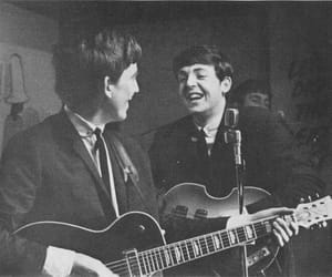 beatles, george, and music image
