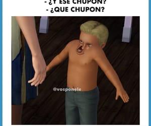 memes, risas, and chupon image