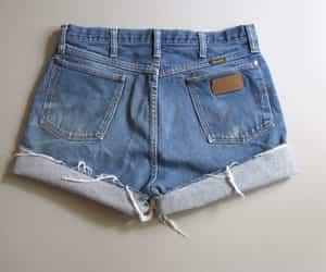 cutoffs, ebay, and jeans image