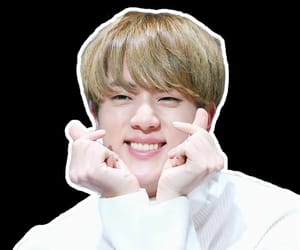 jin, kpop, and png image