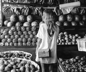farmer's market, girl, and summer image
