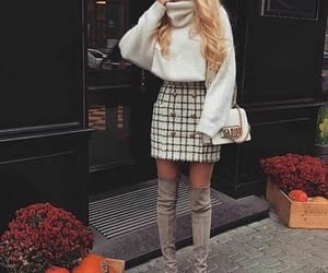 boots, fashion, and knits image