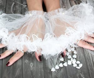 bridal, lace gloves, and etsy image