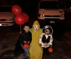 Halloween, Noche, and payaso image
