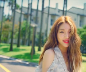 kpop, love u, and chungha image