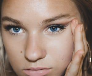 blue eyes, face, and grunge image