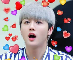 heart, meme, and youngbin image