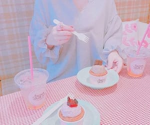 baby, cake, and feed image