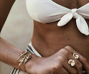 bikini, fashion, and indie image