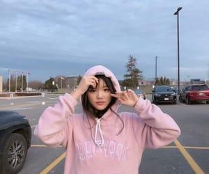 asian girl, korean, and makeup image